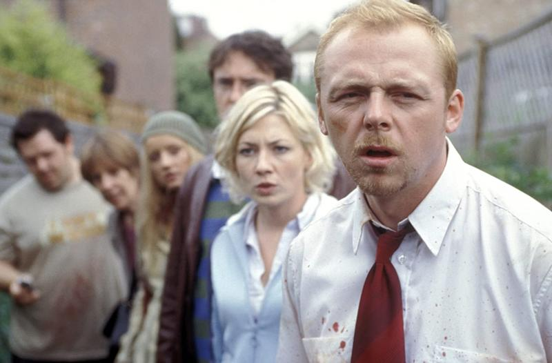 Simon Pegg and Kate Ashfield in Shaun Of The Dead (Image by Working Title)