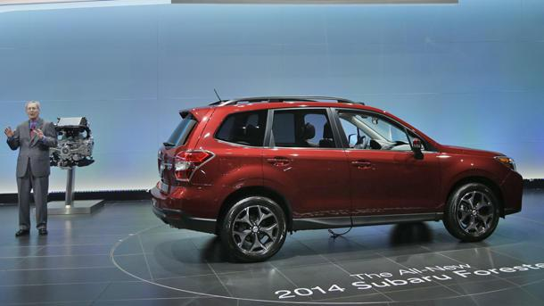 2014 Subaru Forester keeps the winning streak alive