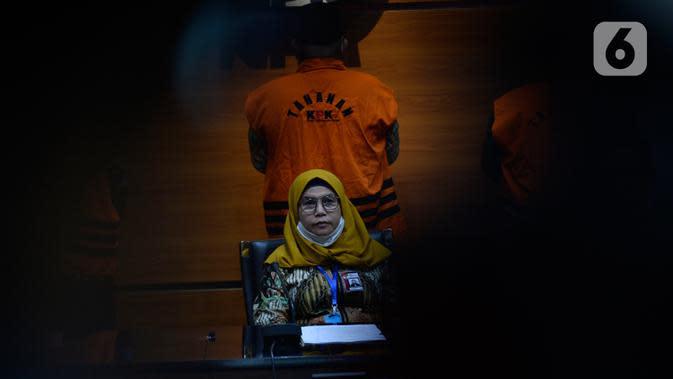 Wakil Ketua KPK, Lili Pintauli Siregar memberikan keterangan di Gedung KPK, Jakarta, Selasa (30/06/2020). KPK kembali menahan tiga mantan anggota DPRD Jambi tersangka kasus dugaan suap pengesahan APBD 2017-2018, yakni Cekman, Parlagutan Nasution, dan Tadjudin Hasan. (merdeka.com/Dwi Narwoko)