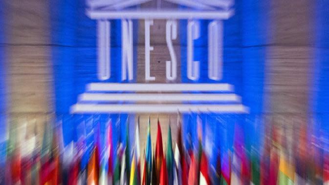 Ilustrasi UNESCO (AP Photo/Jacques Brinon)