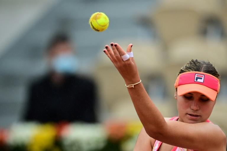 Don't look now but Kenin's bizarre serve is here to stay