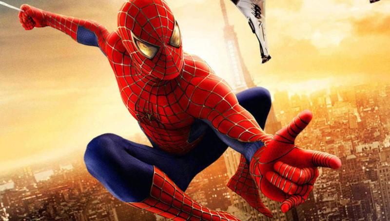 Promotional artwork for 2002's Spider-Man