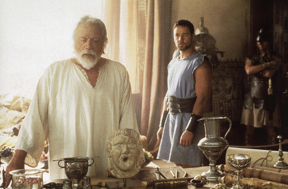 Posthumous Gallery 2008 Gladiator Oliver Reed