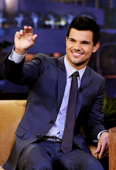 "Taylor Lautner, Martha Stewart And Daughtry On ""The Tonight Show With Jay Leno"""