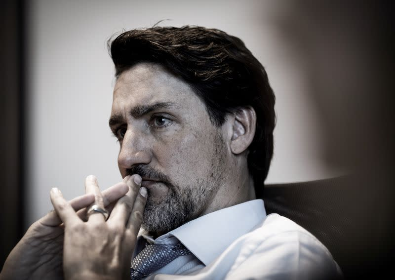 Canada's Trudeau makes waves online with new beard