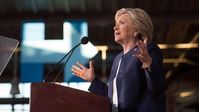 Akhirnya Hillary Clinton Dukung Joe Biden Lawan Trump di Pemilu AS