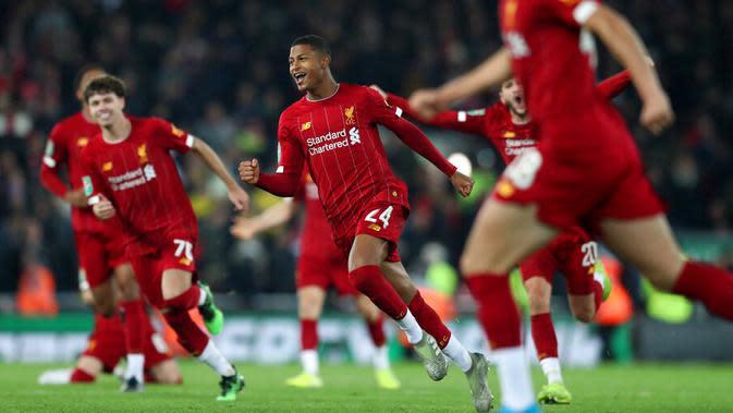 2. Liverpool FC - 966 juta euro (AP/Jon Super)