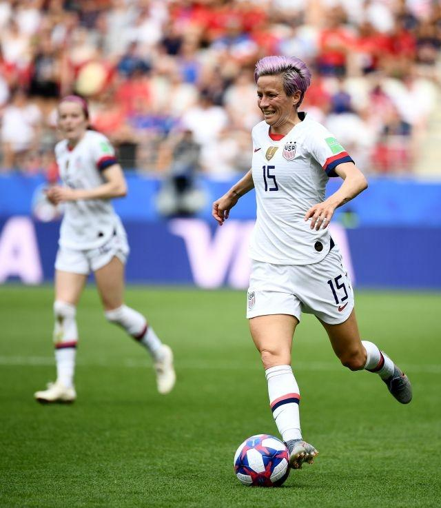 US World Cup superstar Rapinoe wins women's Ballon d'Or
