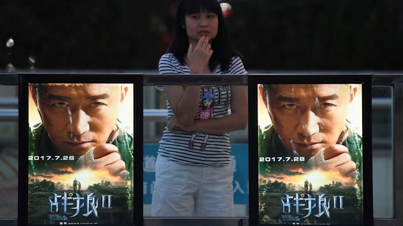 Posters for the film Wolf Warrior 2