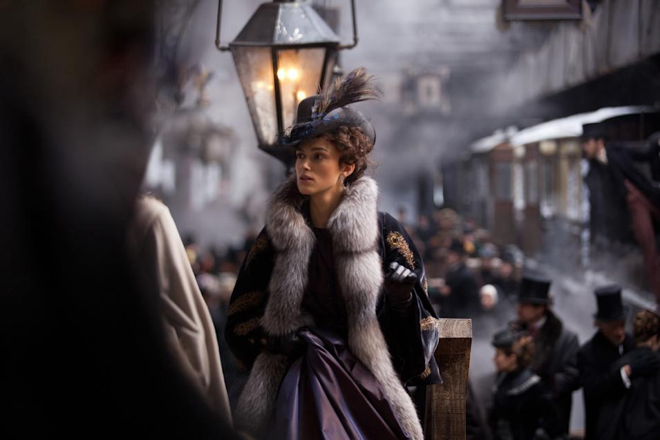 Keira Knightley stars as Anna in Joe Wright?s ANNA KARENINA, a Focus Features release.Credit: Laurie Sparham