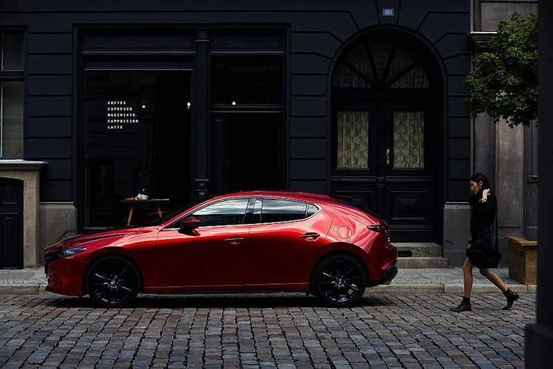 The elegant lift-back model of the new Mazda3 New Era, perfect for those who prefer a sportier look. — Picture courtesy of Bermaz motor