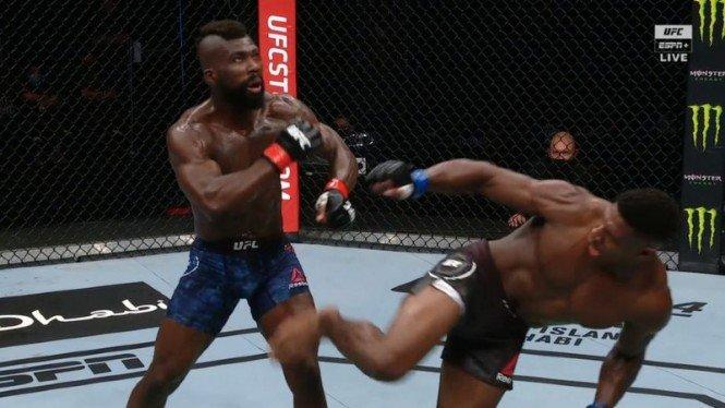 Tendangan Wakanda Dahsyat UFC yang Viral, Beruntung atau Memang Jago?