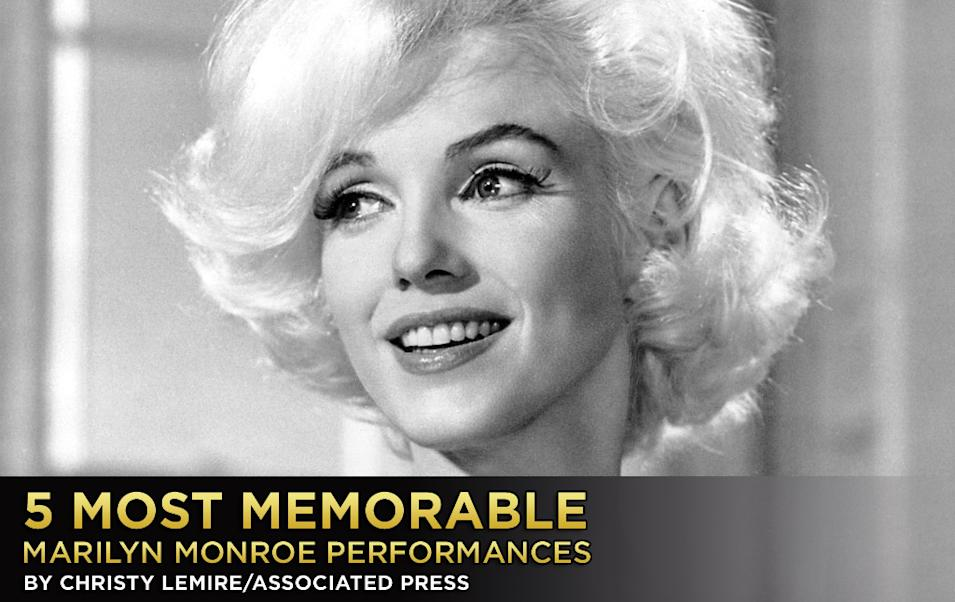 5 Most Memorable Marilyn Monroe Performances, Title Card