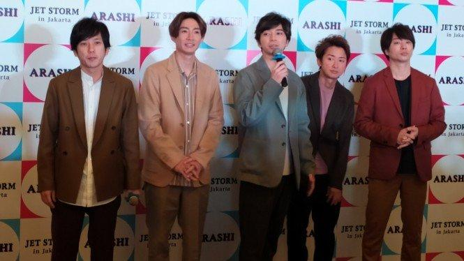 Tahun Depan Arashi Bakal Hiatus, tapi Aktif di 5 Medsos