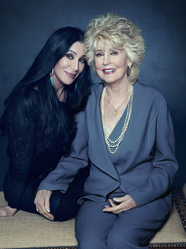 First Look at Cher With Her Mom in Lifetime Documentary [Photo]