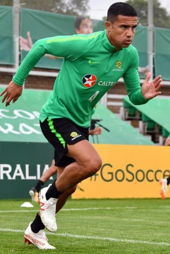 Australia forward Tim Cahill is aiming to score in a fourth consecutive World Cup