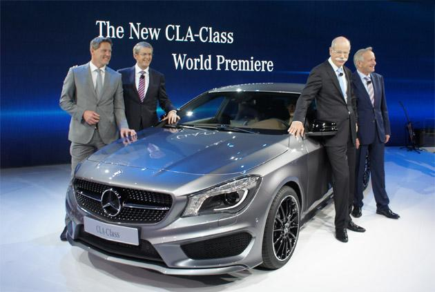 Mercedes-Benz CLA-Class eyes Millennials with a front-wheel-drive price