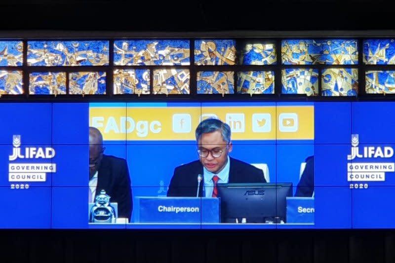 Staf Ahli Menkeu terpilih sebagai Ketua Dewan Pengarah IFAD