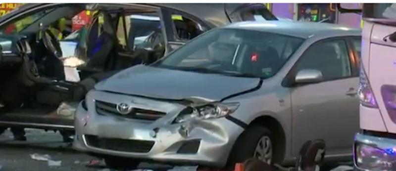 Sydney boy, 12, dies in crash as five are cut out of cars