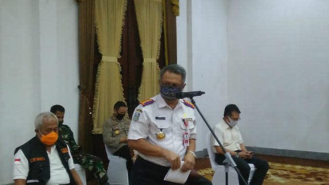 Kepala Dinas Perhubungan (Dishub) Jawa Timur, Nyono (Foto: Liputan6.com/Dian Kurniawan)