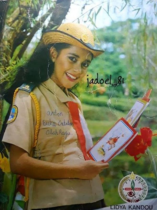 Potret Lawas Lydia Kandou Saat Jadi Bintang Iklan Jadul. (Sumber: Instagram/soetardhie)