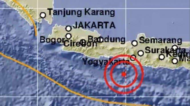 Gempa Guncang Jateng dan Yogyakarta Senin Dini Hari, Ini Analisis BMKG