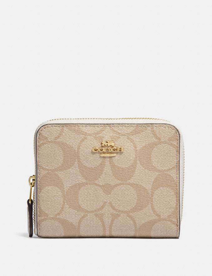 Small Zip Around Wallet. Image via Coach.