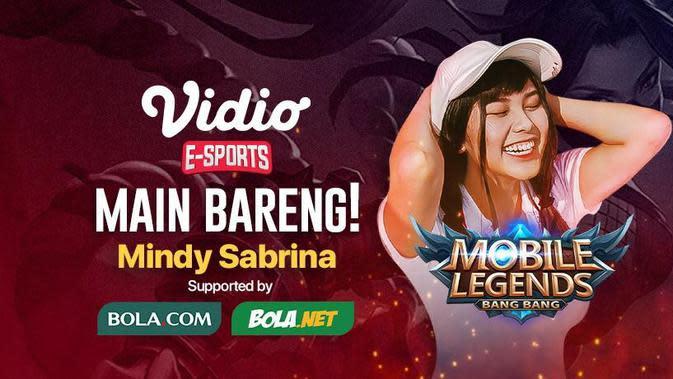 Mindy Sabrina akan mengajak Sahabat Bola.com bermain bareng Mobile Legends : Bang Bang.