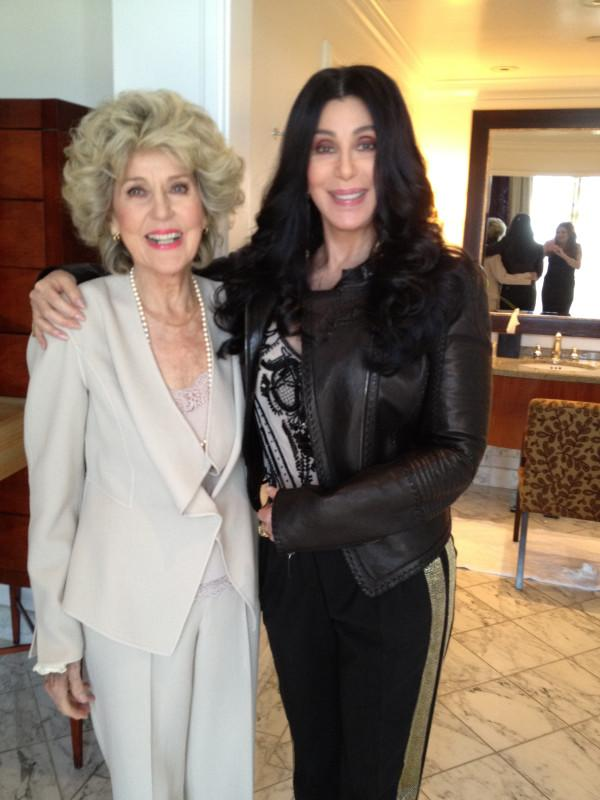 Cher Takes Her Mom To Meet The President