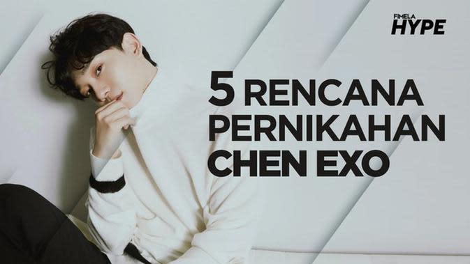 5 Fakta Rencana Pernikahan Chen EXO