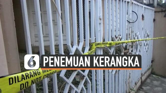 VIDEO: Geger Kerangka Manusia di Rumah Kosong Bandung