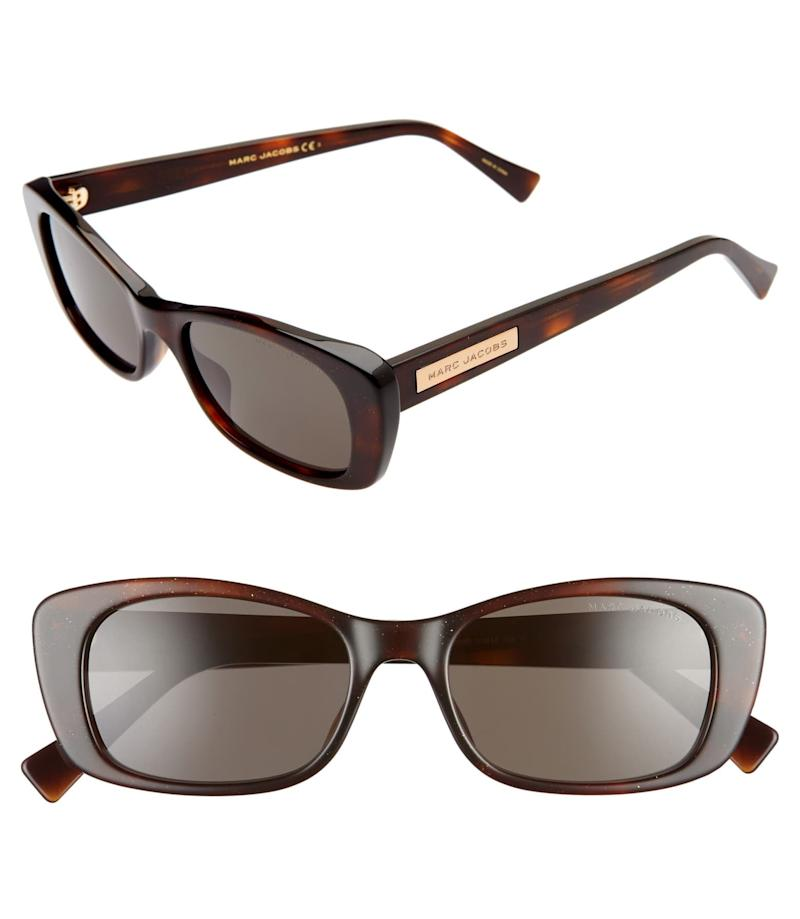 The Marc Jacobs 51mm Cat Eye Sunglasses. Image via Nordstrom.