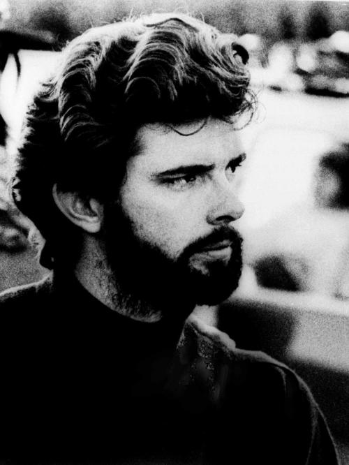 "This 1974 photo shows George Lucas, director of the film, ""American Graffiti."" ""What I was trying to do was stay independent so that I could make the movies I wanted to make,"" Lucas says in the 2004 documentary ""Empire of Dreams."" (AP Photo, File)"