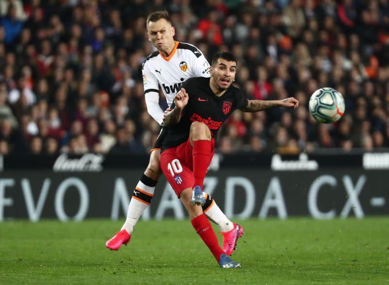 La Liga Santander - Valencia v Atletico Madrid