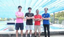備戰東京奧運 王冠閎與教練團 (圖)