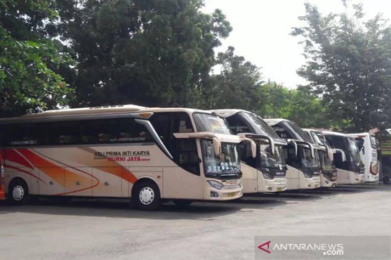 Jumlah penumpang bus malam dari Yogyakarta ke Jabodetabek kian merosot