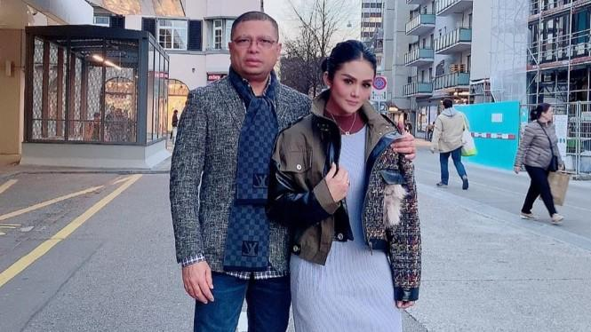 Alasan Krisdayanti Tak Kunjungi Aurel-Azriel di Cinere
