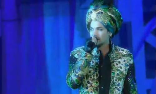 Adam Lambert Debuts New Song, New Look at Life Ball