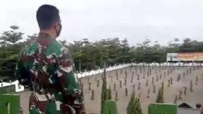 KSAD: Pasien Positif COVID-19 di Secapa TNI AD Tersisa 92