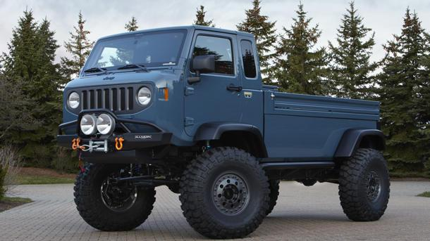 Jeep revives Forward Control, Gladiator pickups in Easter concepts