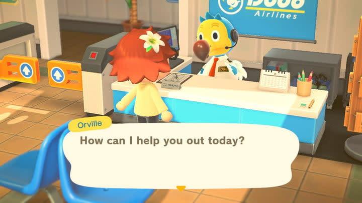 Animal Crossing random island