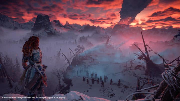 horizon zero dawn the frozen wild review smoke