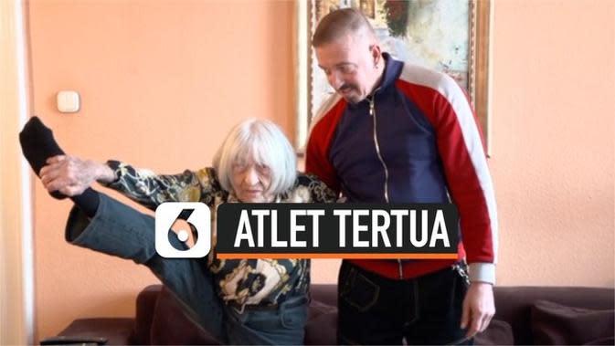 VIDEO: Inilah Atlet Peraih Medali Olimpiade Tertua yang Masih Hidup