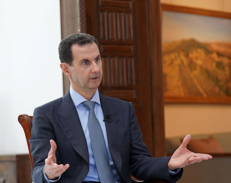Syria's Assad warns of 'catastrophe' if coronavirus cases spike