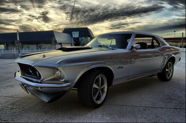 The view from a '69 Mustang: Flickr photo of the day