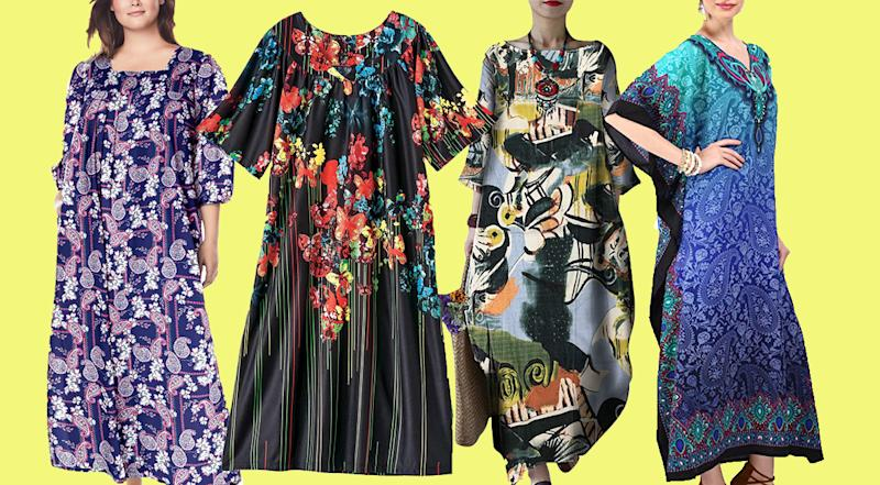 House dresses just made staying home a lot more fun. (Photo: Amazon)
