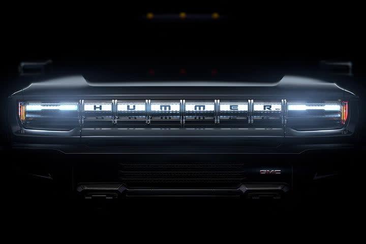 GMC Hummer teaser