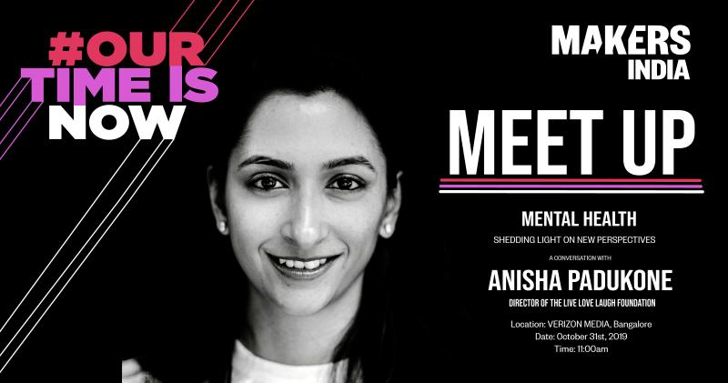 MAKERS India Meet-Up with Anisha Padukone