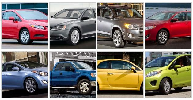 Top new car lease and finance deals for May 2012