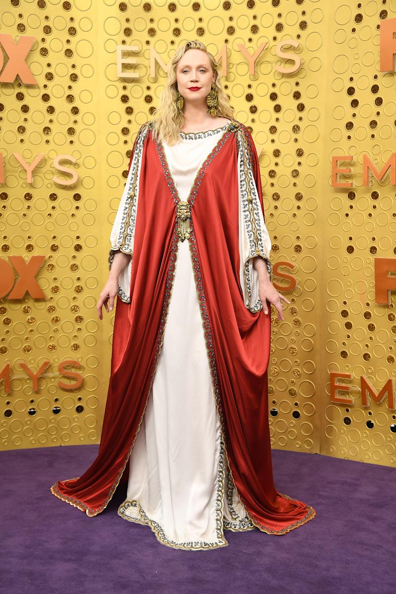 Gwendoline Christie attends the 71st Emmy Awards 2019